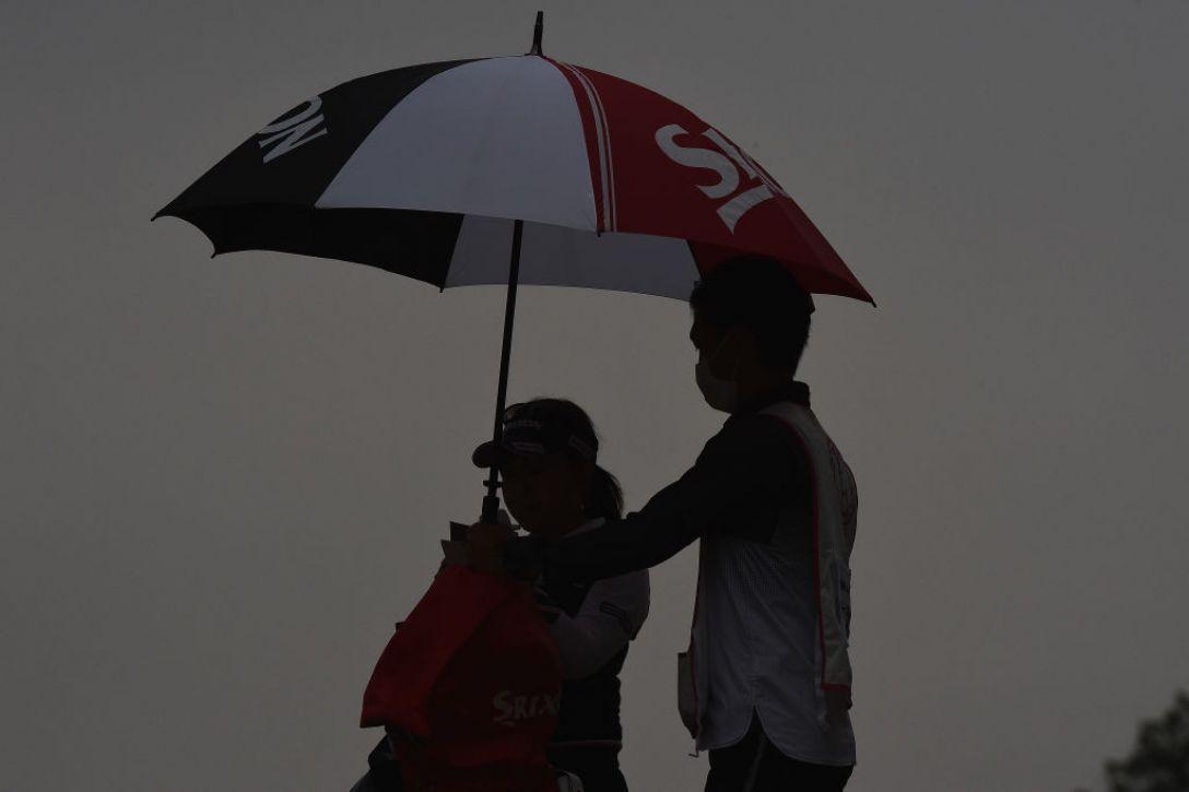 ヤマハレディースオープン葛城 2日目 青木瀬令奈 <Photo:Matt Roberts/Getty Images>