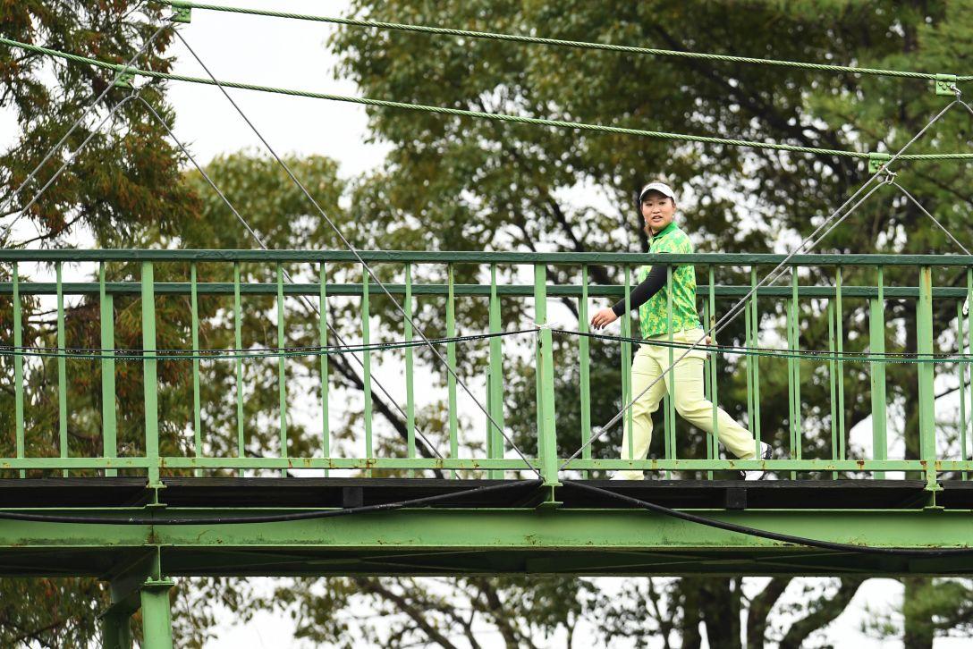 スタジオアリス女子オープン 1日目 鬼頭 桜<Photo:Atsushi Tomura/Getty Images>
