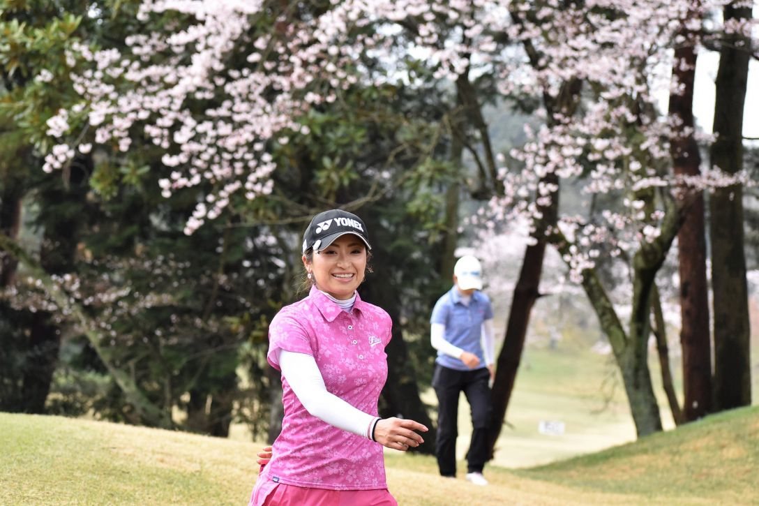 Hanasaka Ladies Yanmar Golf Tournament 2日目 宅島美香