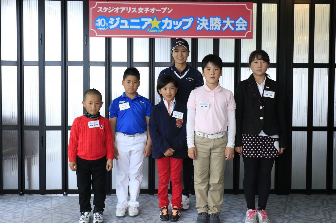 スタジオアリス女子オープン 2日目 藤田光里