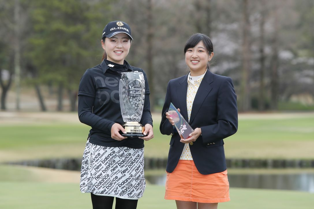 Hanasaka Ladies Yanmar Golf Tournament 最終日 山内日菜子 高木優奈 <Photo:Ken Ishii/Getty Images>