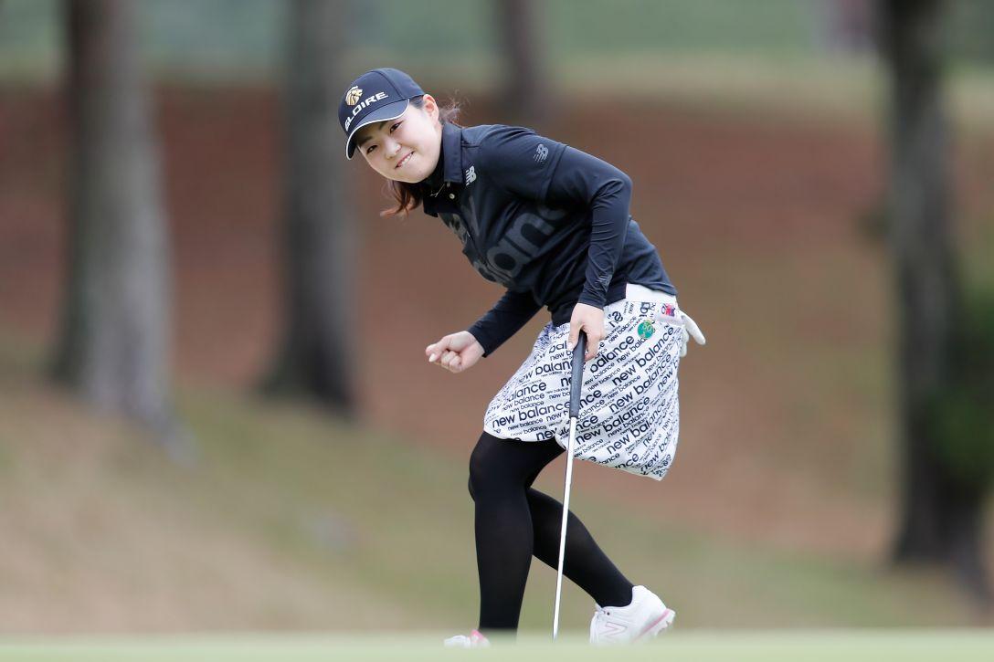 Hanasaka Ladies Yanmar Golf Tournament 最終日 山内日菜子 <Photo:Ken Ishii/Getty Images>