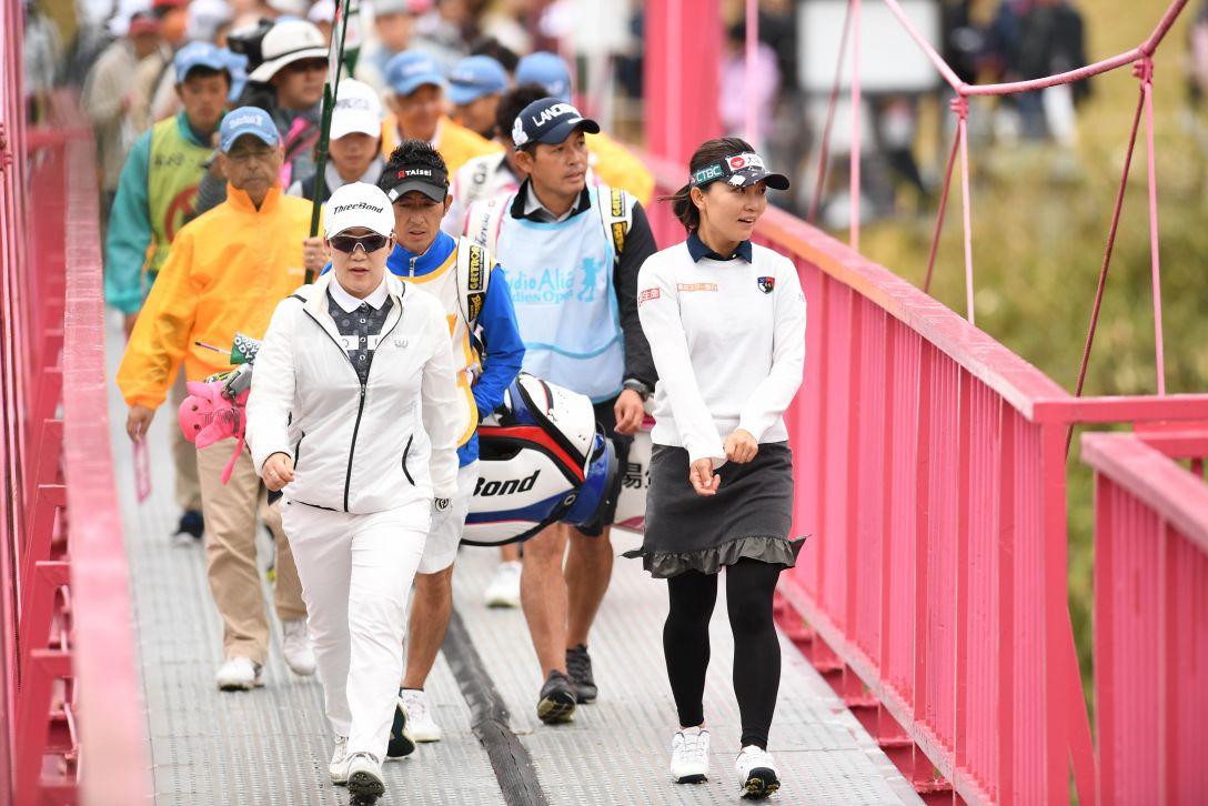 スタジオアリス女子オープン 最終日 申ジエ <Photo:Atsushi Tomura/Getty Images>