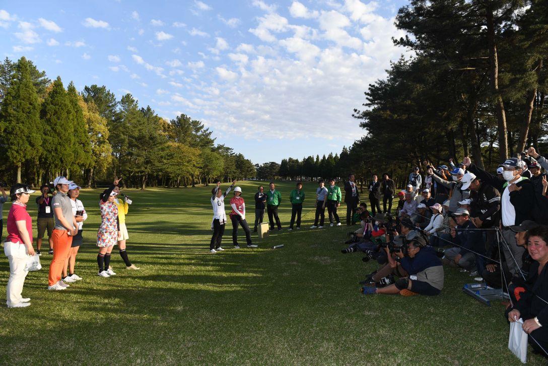 KKT杯バンテリンレディスオープン 1日目 <Photo:Atsushi Tomura/Getty Images>