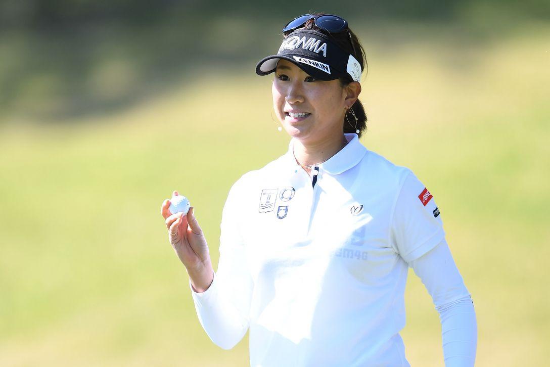 サイバーエージェント レディスゴルフトーナメント 1日目 木戸愛 <Photo:Atsushi Tomura/Getty Images>