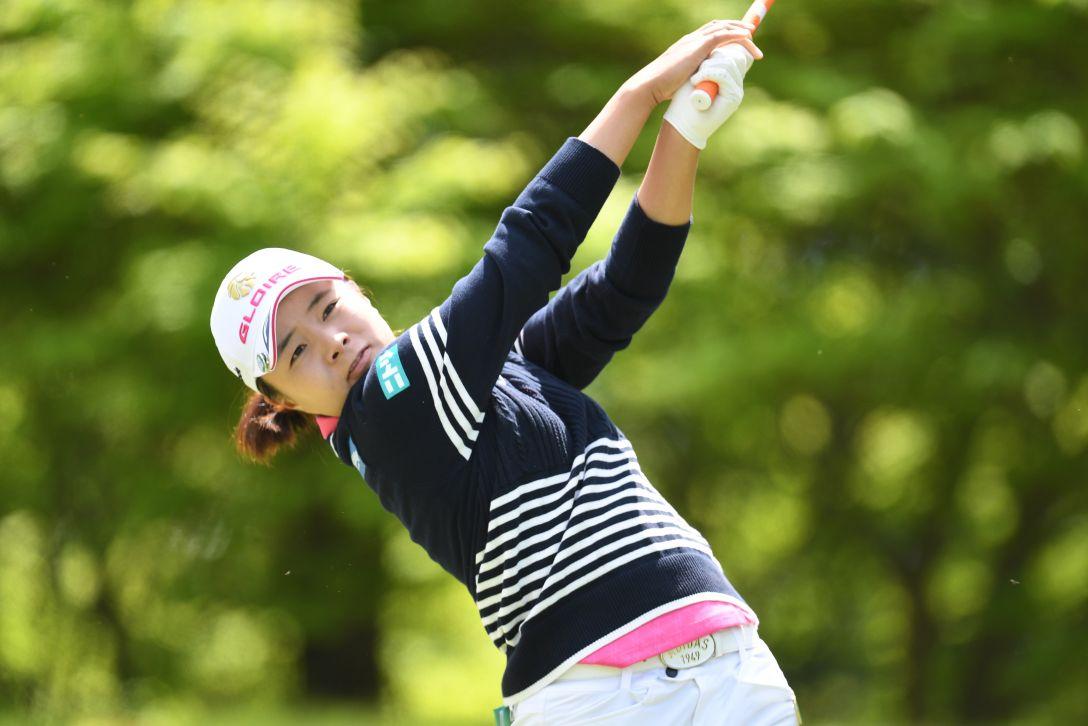 サイバーエージェント レディスゴルフトーナメント 1日目 永峰咲希 <Photo:Atsushi Tomura/Getty Images>