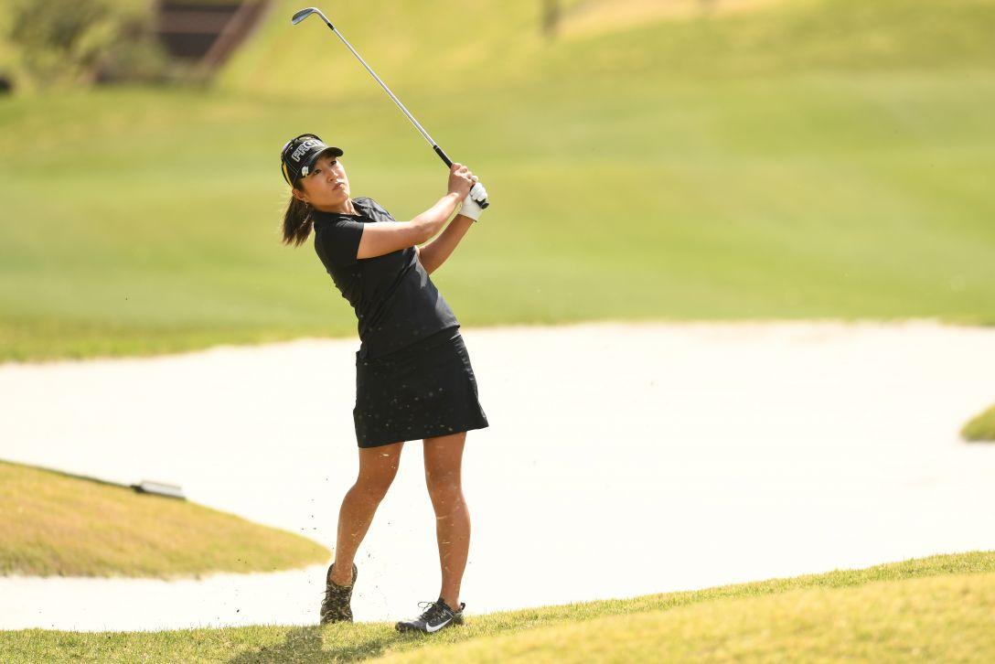 サイバーエージェント レディスゴルフトーナメント 2日目 藤本麻子 <Photo:Atsushi Tomura/Getty Images>