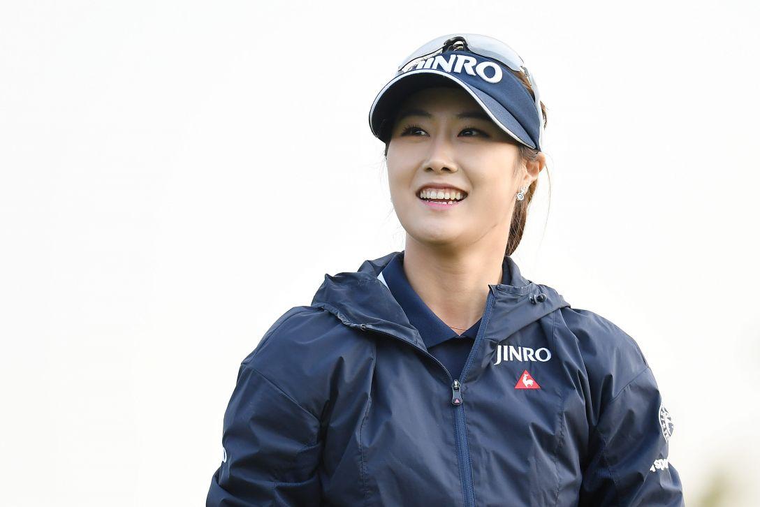 サイバーエージェント レディスゴルフトーナメント 2日目 キムハヌル <Photo:Atsushi Tomura/Getty Images>