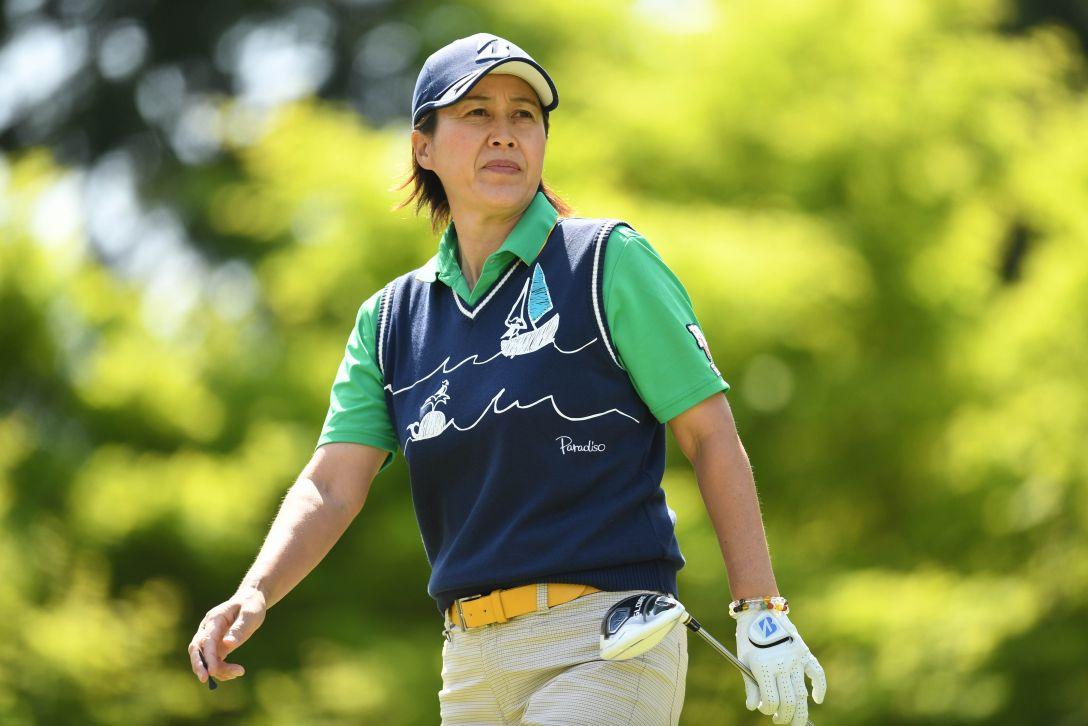 サイバーエージェント レディスゴルフトーナメント 2日目 鬼澤信子 <Photo:Atsushi Tomura/Getty Images>