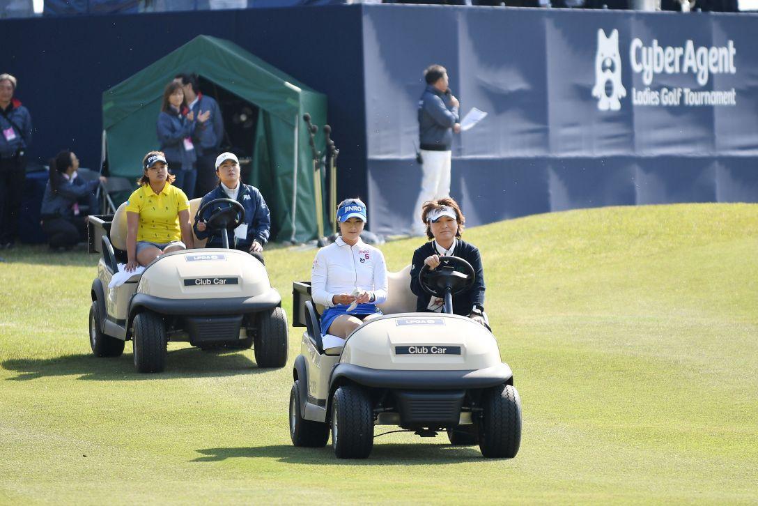 サイバーエージェント レディスゴルフトーナメント 最終日 キムハヌル <Photo:Atsushi Tomura/Getty Images>