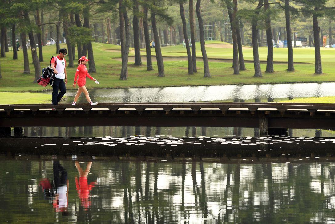 ワールドレディスチャンピオンシップサロンパスカップ 3日目 アンシネ <Photo:Atsushi Tomura&Matt Roberts/Getty Images>
