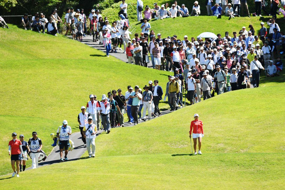 リゾートトラスト レディス 最終日 イボミ <Photo:Atsushi Tomura/Getty Images>