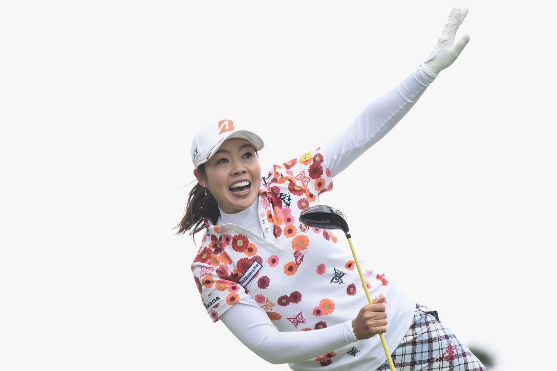 ヨネックスレディスゴルフトーナメント 1日目 西山 ゆかり <Photo:Matt Roberts/Getty Images>