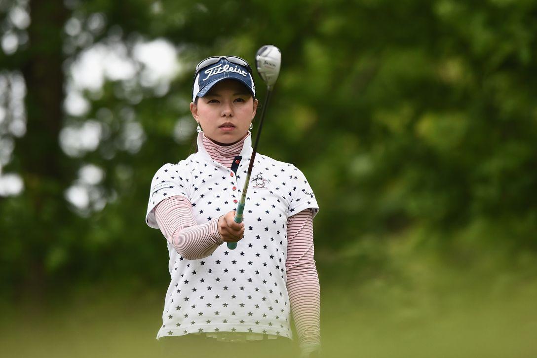 ヨネックスレディスゴルフトーナメント 2日目 安福 千乃 <Photo:Matt Roberts/Getty Images>