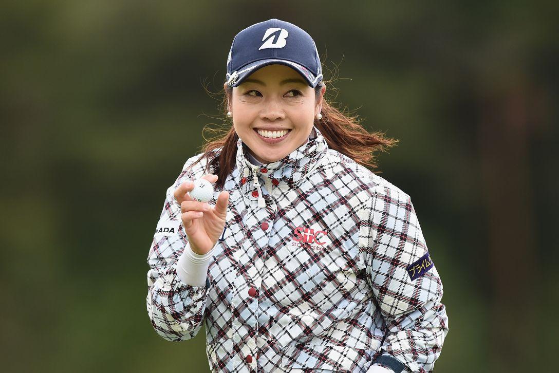 ヨネックスレディスゴルフトーナメント 2日目 西山 ゆかり <Photo:Matt Roberts/Getty Images>