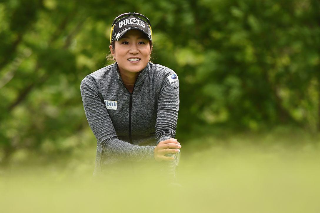 ヨネックスレディスゴルフトーナメント 2日目 藤本 麻子 <Photo:Matt Roberts/Getty Images>