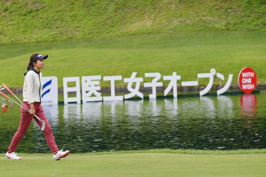 日医工女子オープン 最終日 井上りこ <Photo:Atsushi Tomura/Getty Images>