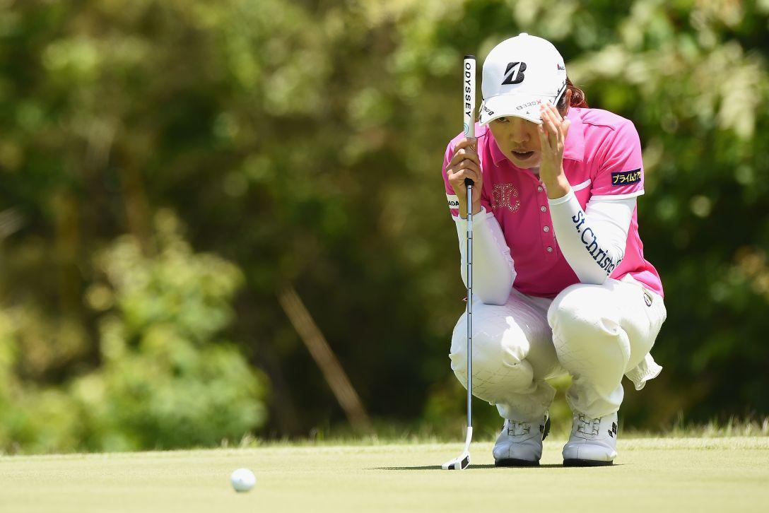 ヨネックスレディスゴルフトーナメント 最終日 西山 ゆかり <Photo:Matt Roberts/Getty Images>