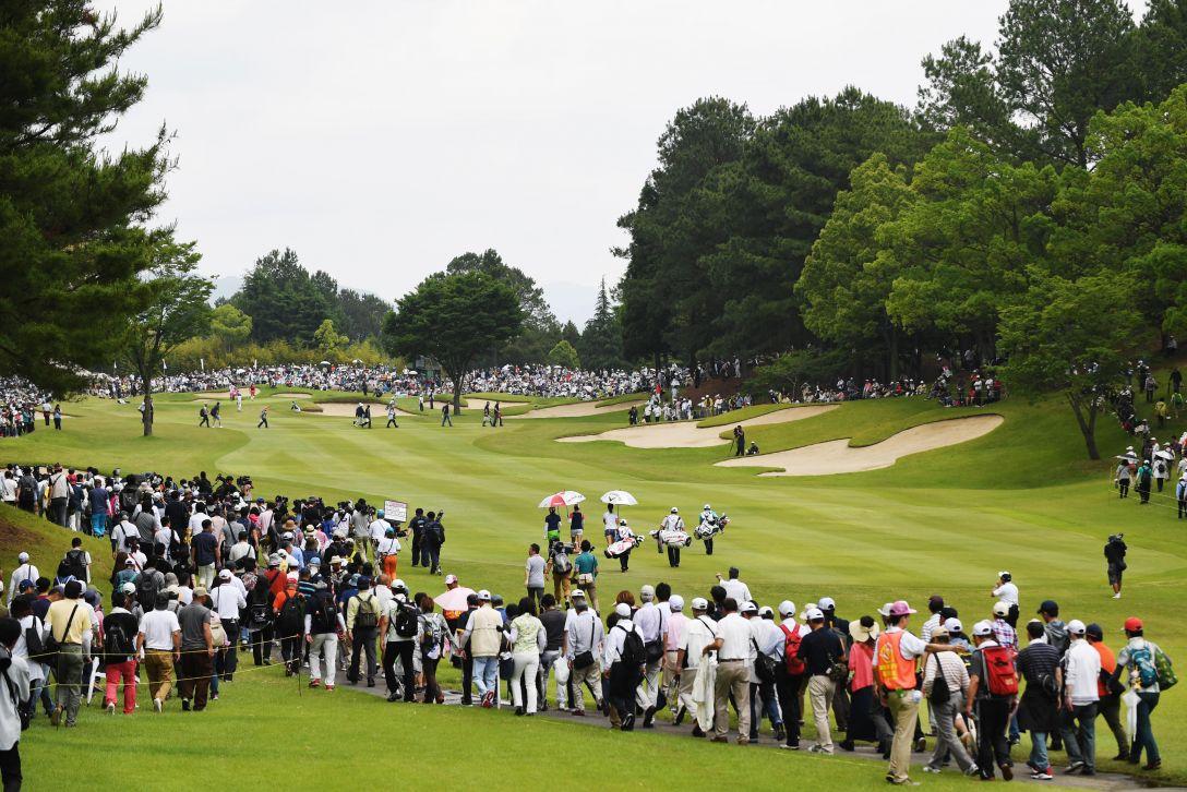 サントリーレディスオープンゴルフトーナメント 1日目 <Photo:Atsushi Tomura/Getty Images>