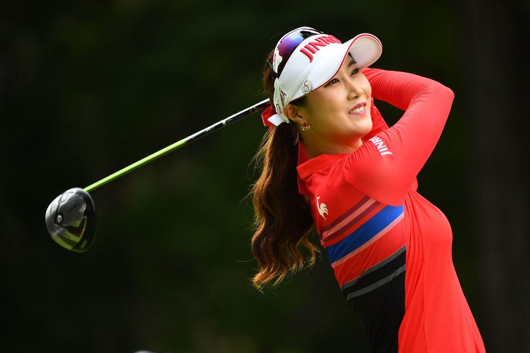 サントリーレディスオープンゴルフトーナメント 1日目 キムハヌル <Photo:Masterpress/Getty Images>
