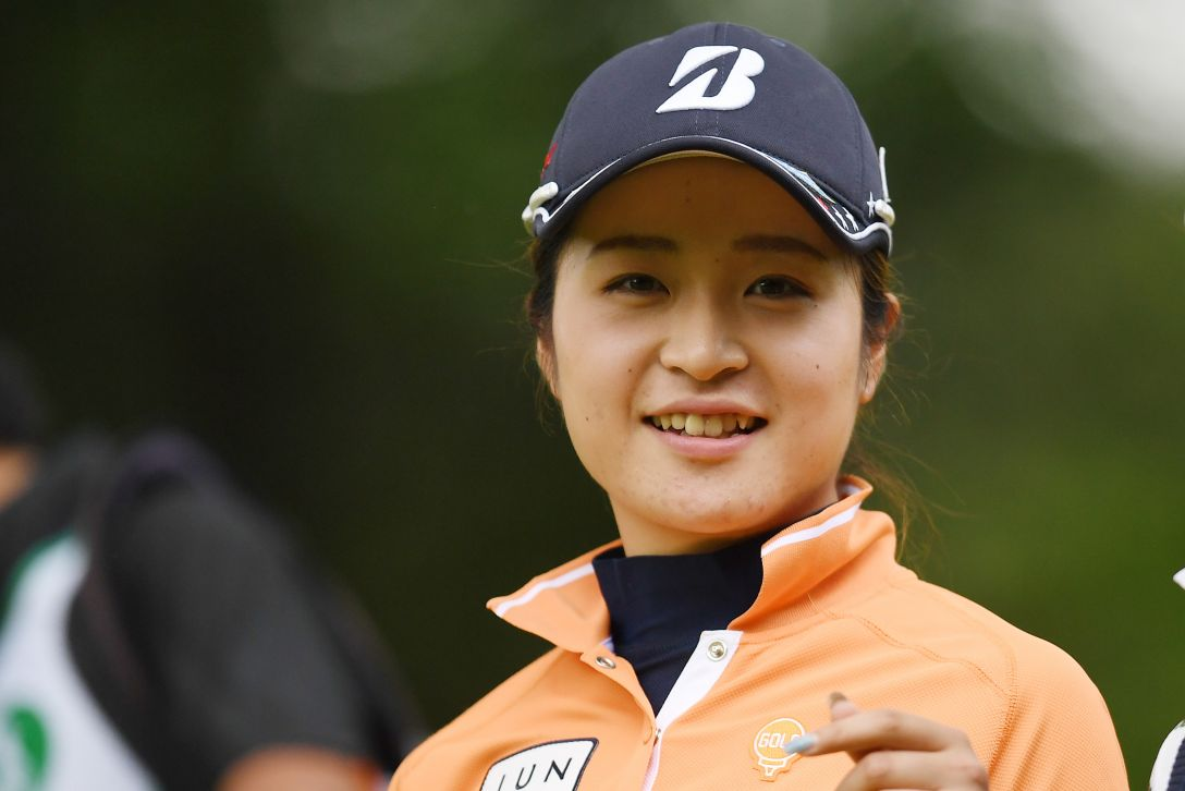 サントリーレディスオープンゴルフトーナメント 1日目 三ヶ島かな <Photo:Atsushi Tomura/Getty Images>