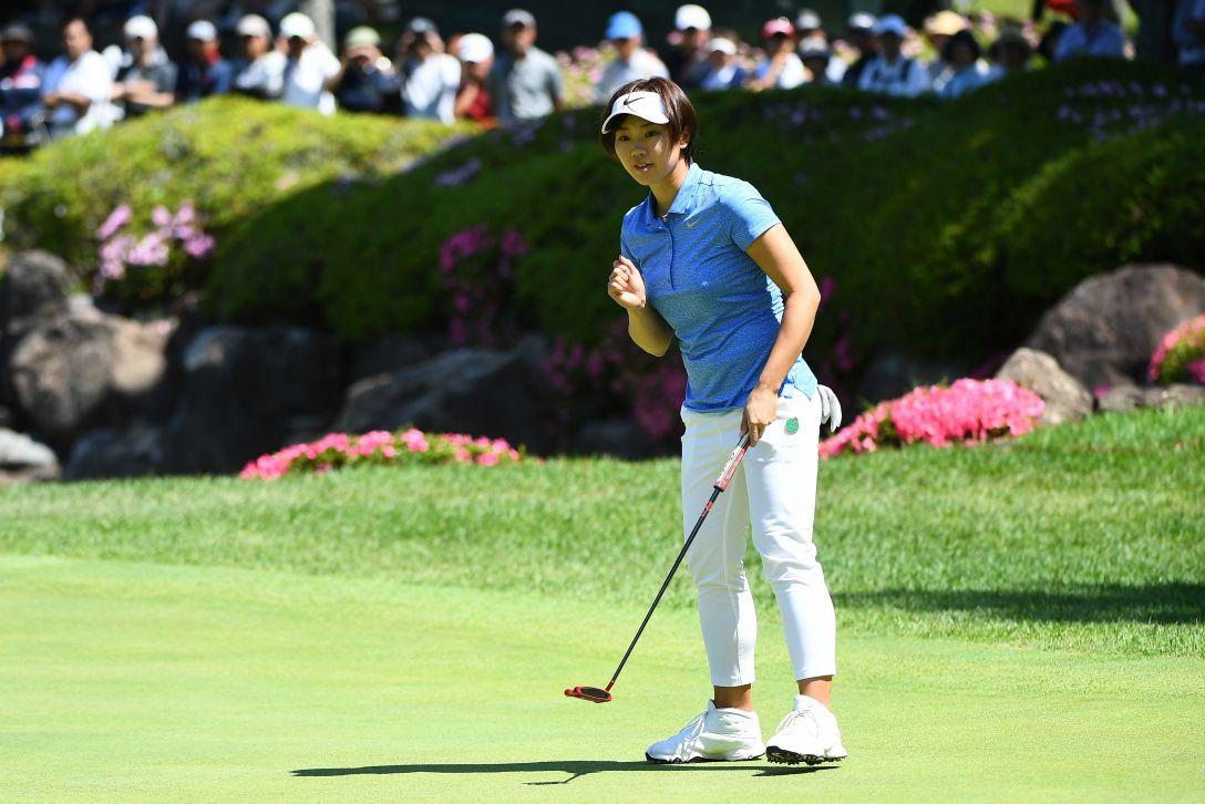 サントリーレディスオープンゴルフトーナメント 2日目 葭葉ルミ <Photo:Mastespress/Getty Images>