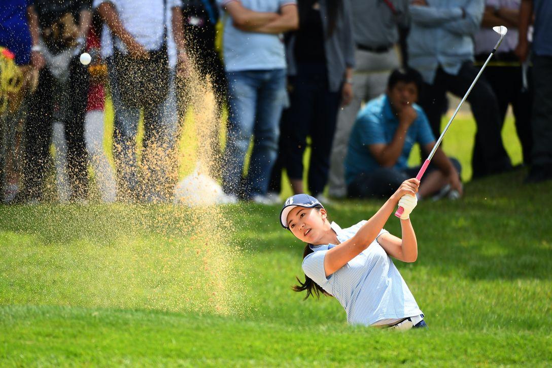 サントリーレディスオープンゴルフトーナメント 3日目 堀琴音 <Photo:Mastespress/Getty Images>