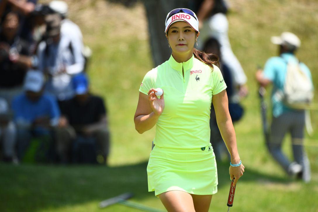 サントリーレディスオープンゴルフトーナメント 3日目 キムハヌル <Photo:Mastespress/Getty Images>