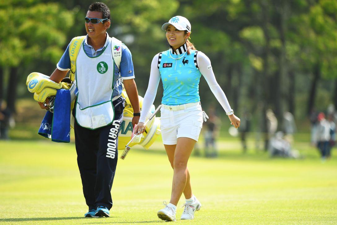 サントリーレディスオープンゴルフトーナメント 3日目 イボミ <Photo:Mastespress/Getty Images>
