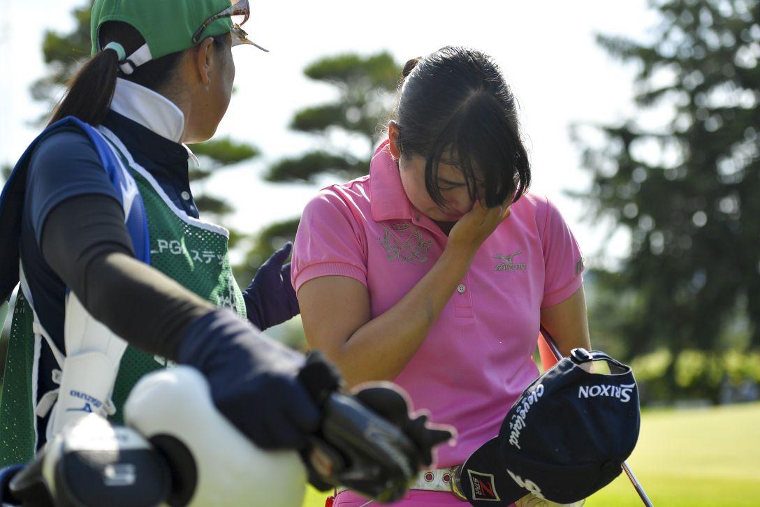 ルートインカップ 上田丸子グランヴィリオレディース 最終日 今綾奈 <Photo:Koki Nagahama/Getty Images>