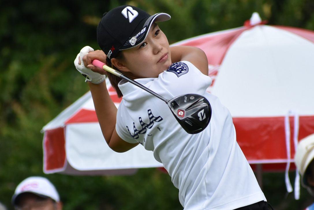 ECCレディス ゴルフトーナメント 2日目 福山 恵梨