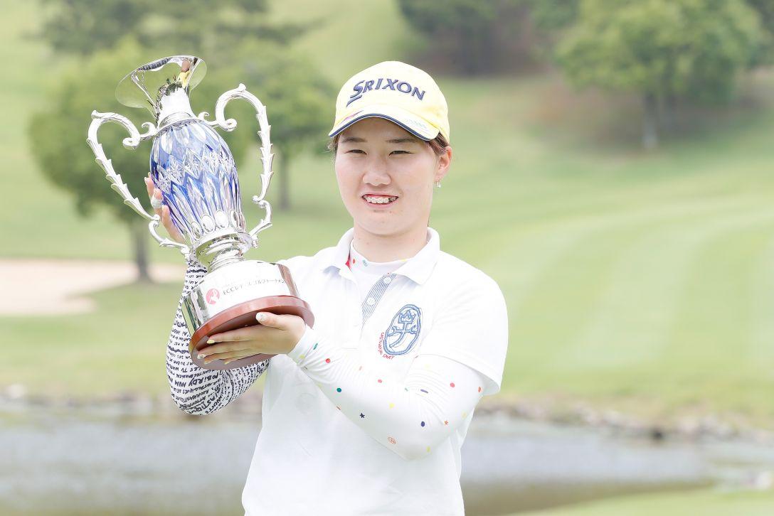 ECCレディス ゴルフトーナメント 最終日 石川 明日香 <Photo:Ken Ishii/Getty Images>