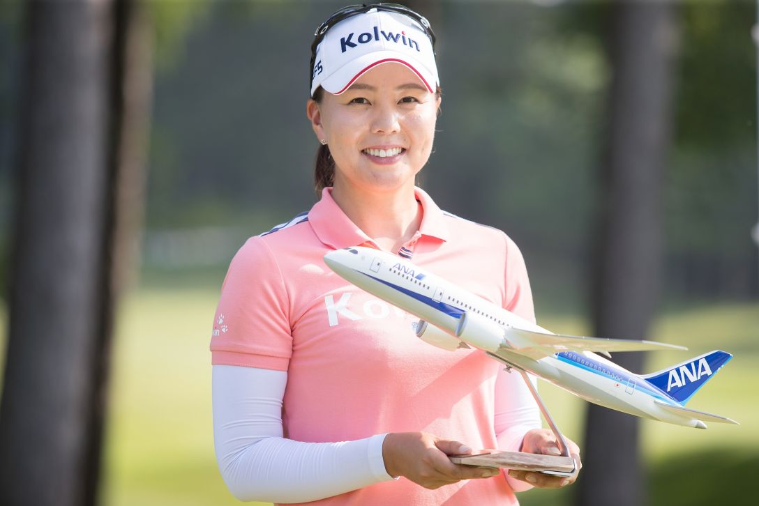 ANA PRINCESS CUP 最終日 上原美希 <Photo:Ken Ishii/Getty Images>
