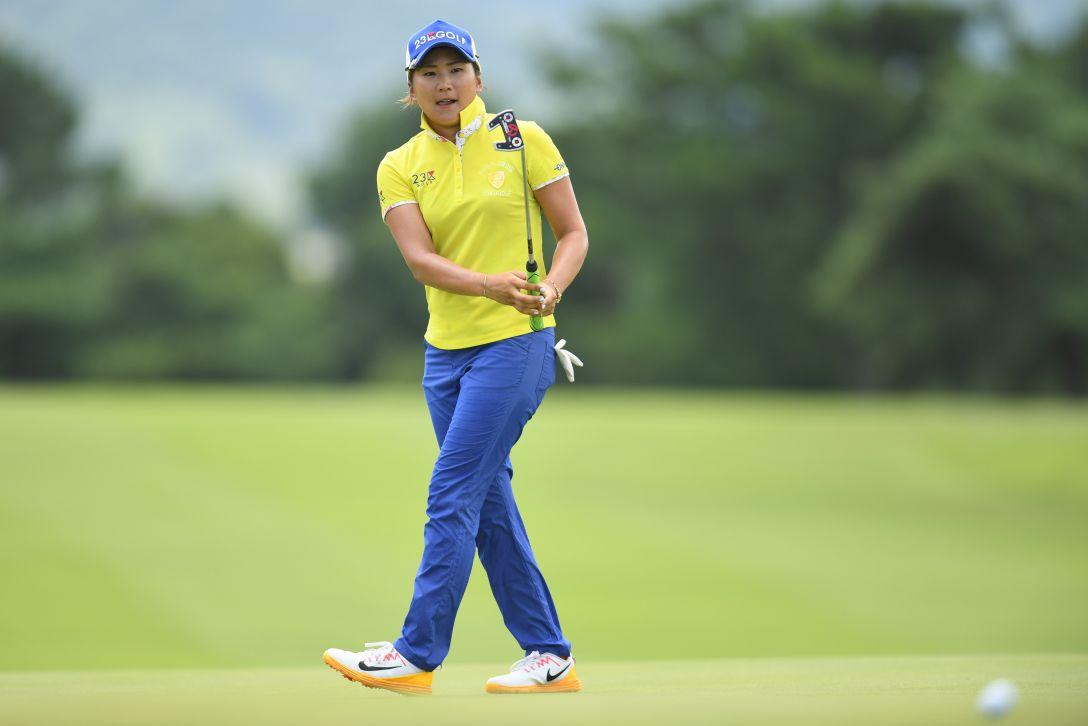 センチュリー21レディスゴルフトーナメント 1日目 成田美寿々 <Photo:Atsushi Tomura/Getty Images>