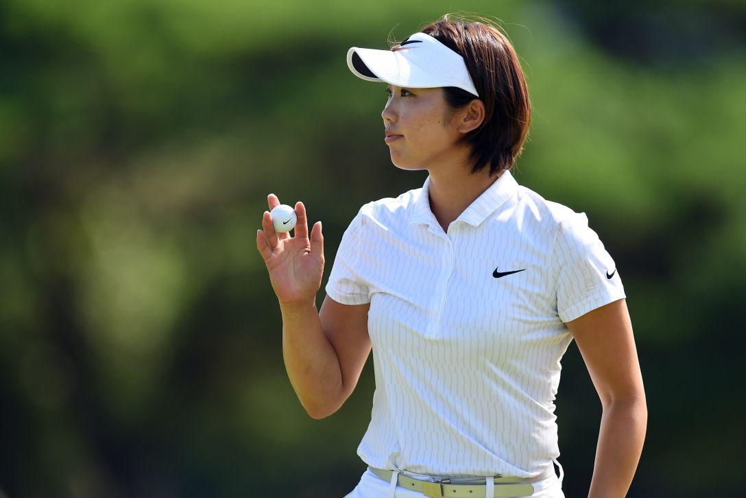 センチュリー21レディスゴルフトーナメント 1日目 葭葉ルミ <Photo:Atsushi Tomura/Getty Images>