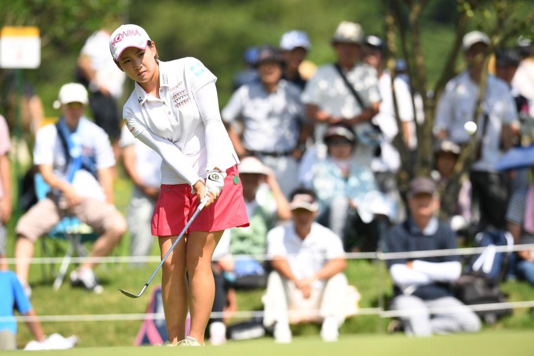 センチュリー21レディスゴルフトーナメント 1日目 永井花奈 <Photo:Atsushi Tomura/Getty Images>