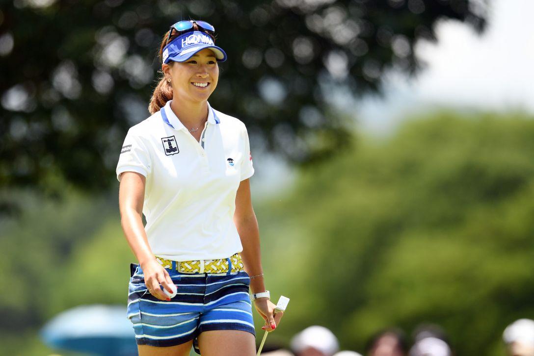 センチュリー21レディスゴルフトーナメント 2日目 木戸 愛 <Photo:Atsushi Tomura/Getty Images>