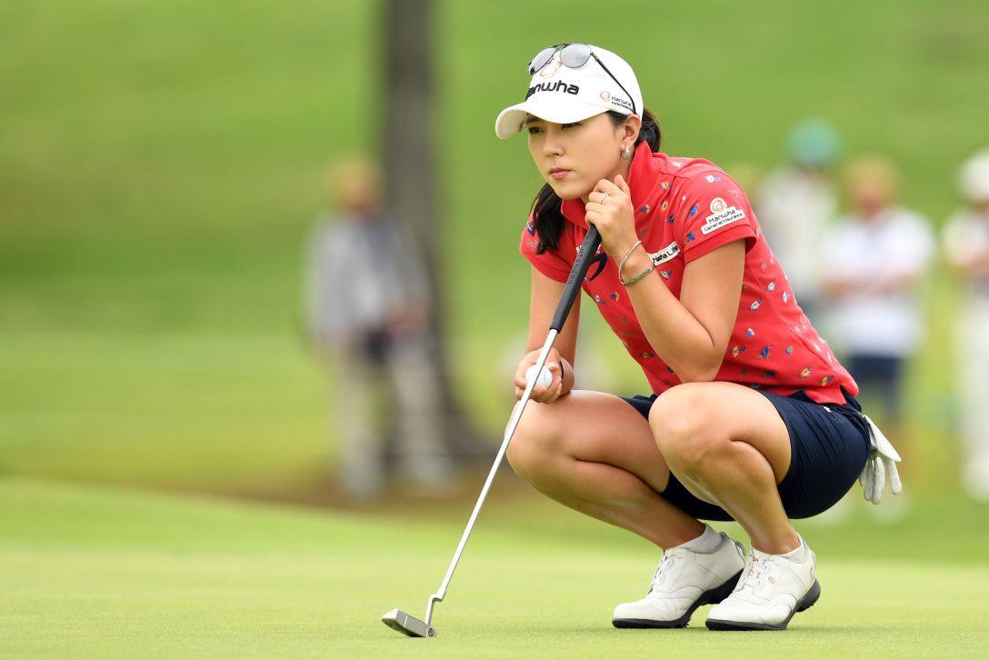 センチュリー21レディスゴルフトーナメント 最終日 ユン チェヨン <Photo:Atsushi Tomura/Getty Images>