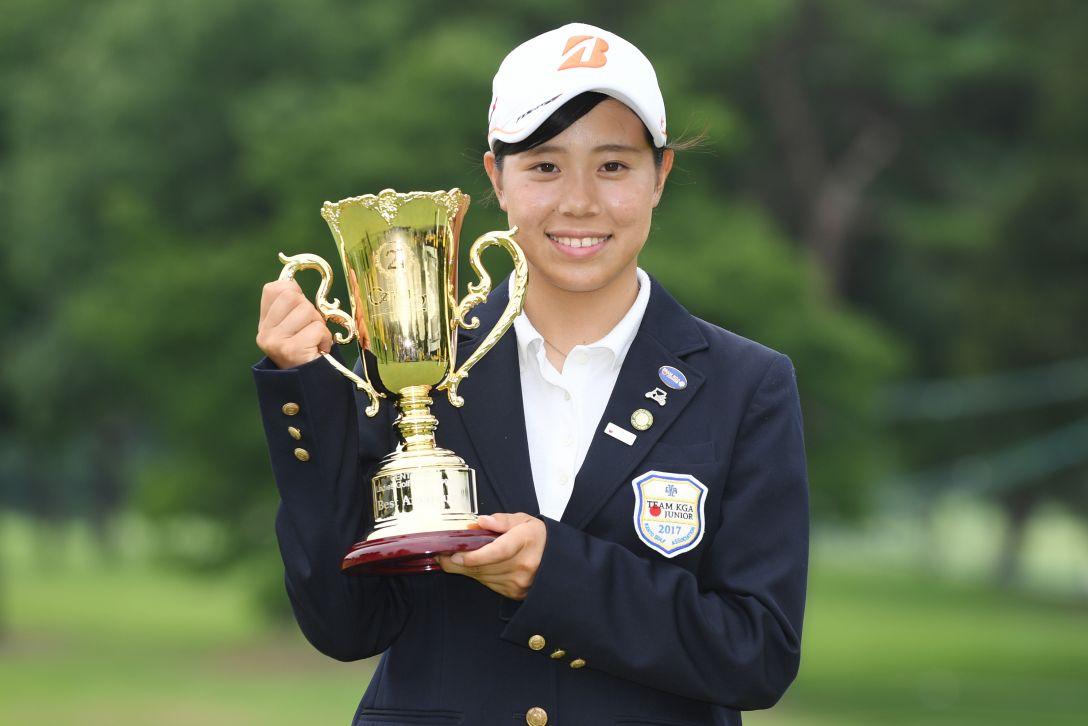 センチュリー21レディスゴルフトーナメント 最終日 岩﨑 美紀 <Photo:Atsushi Tomura/Getty Images>