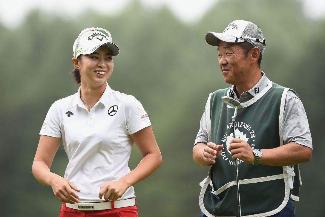 NEC軽井沢72ゴルフトーナメント 1日目 柏原明日架 <Photo:Matt Roberts/Getty Images>