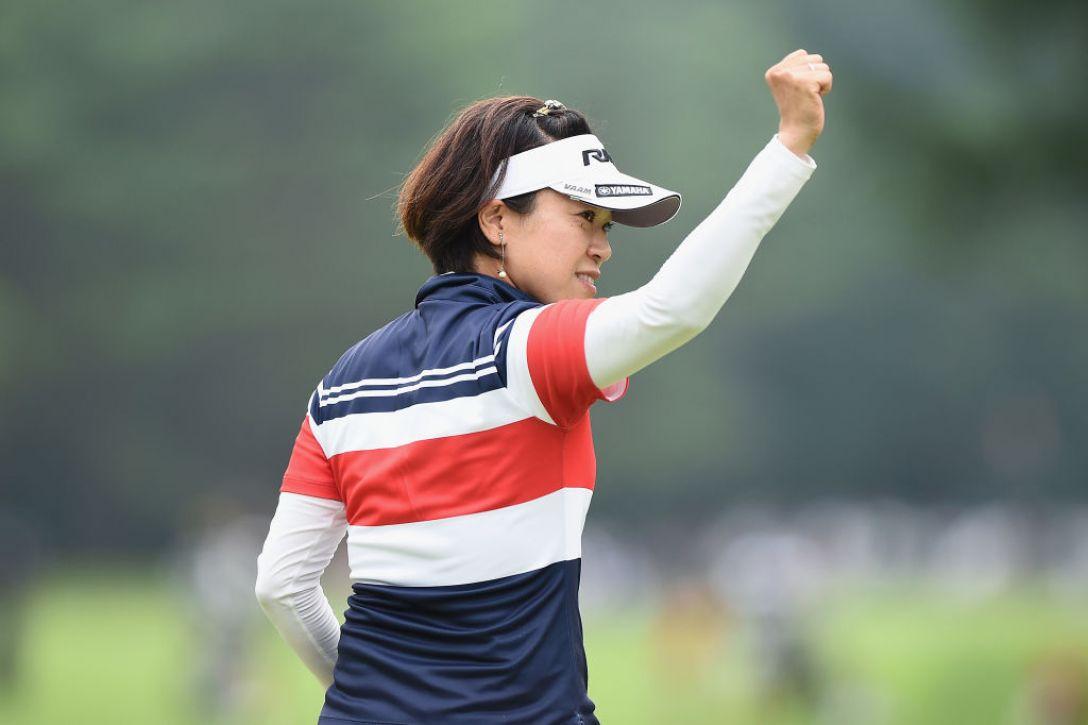 軽井沢72ゴルフトーナメント 2日目 大山志保 <Photo:Matt Roberts/Getty Images>