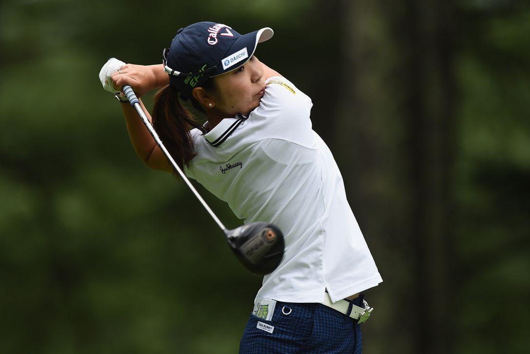 NEC軽井沢72ゴルフトーナメント 1日目 比嘉真美子 <Photo:Matt Roberts/Getty Images>