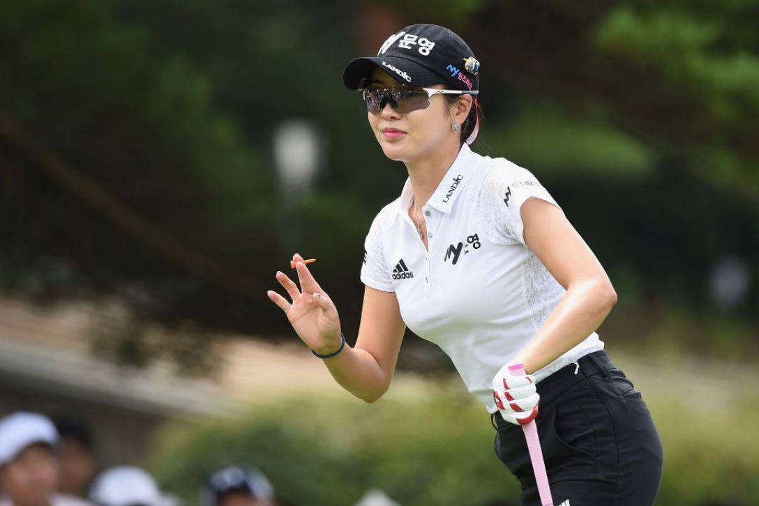 軽井沢72ゴルフトーナメント 2日目 アンシネ <Photo:Matt Roberts/Getty Images>