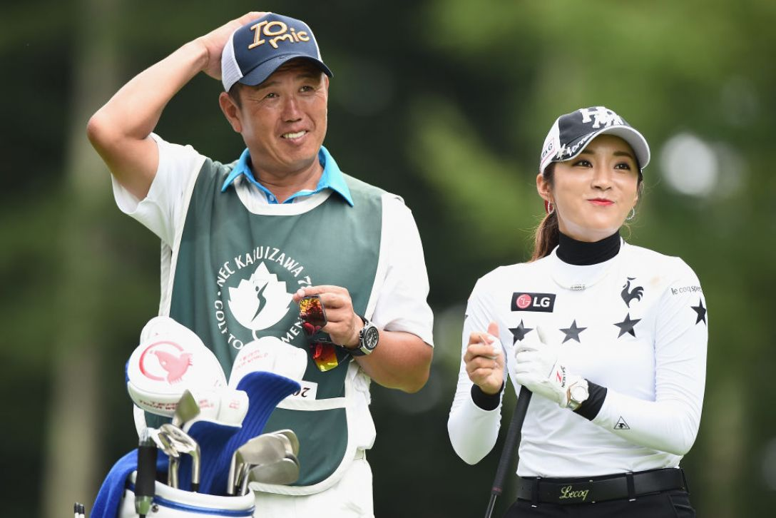 軽井沢72ゴルフトーナメント 2日目 イボミ <Photo:Matt Roberts/Getty Images>