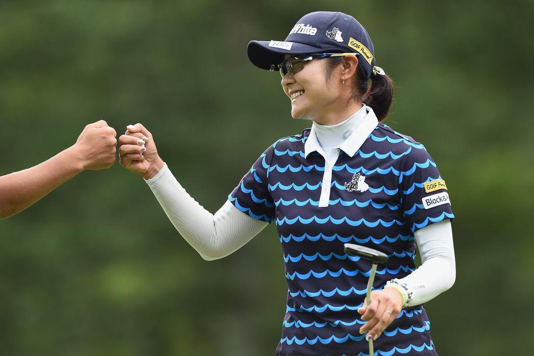 軽井沢72ゴルフトーナメント 最終日 藤田さいき <Photo:Matt Roberts/Getty Images>