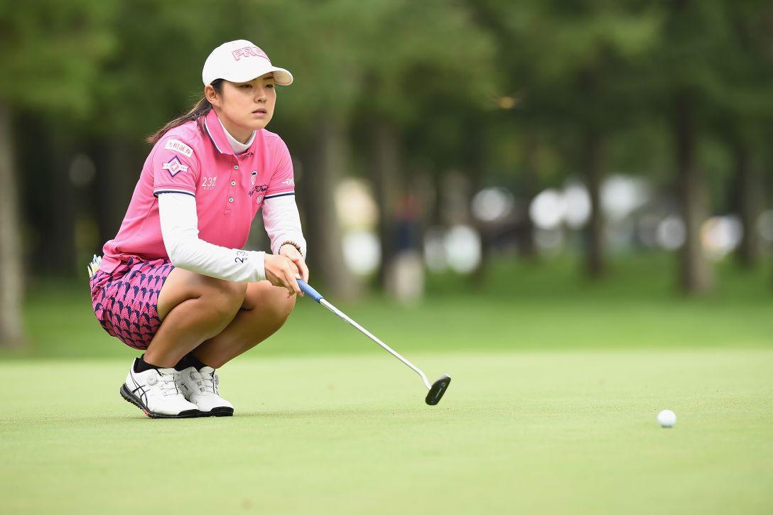 軽井沢72ゴルフトーナメント 最終日 辻梨恵 <Photo:Matt Roberts/Getty Images>