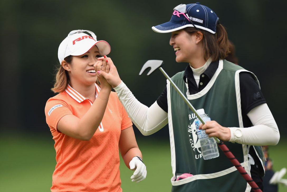 軽井沢72ゴルフトーナメント 2日目 大江香織 <Photo:Matt Roberts/Getty Images>