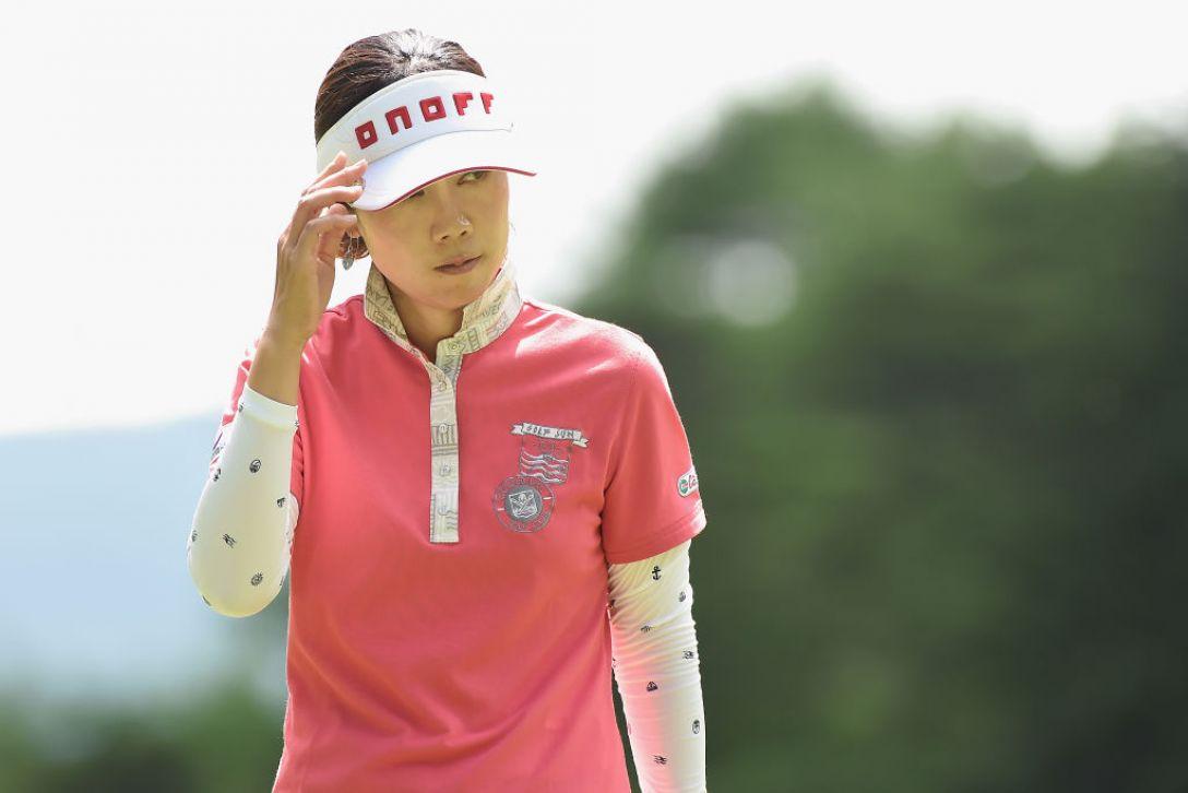 軽井沢72ゴルフトーナメント 2日目 李知姫 <Photo:Matt Roberts/Getty Images>