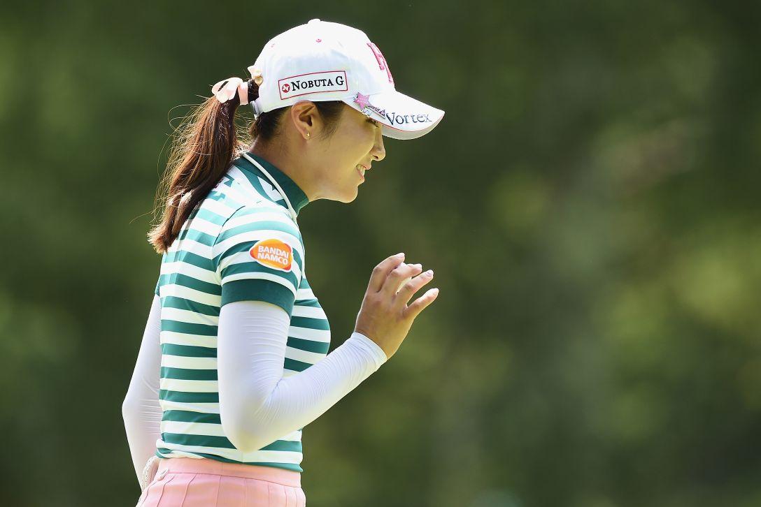 軽井沢72ゴルフトーナメント 最終日 イボミ <Photo:Matt Roberts/Getty Images>
