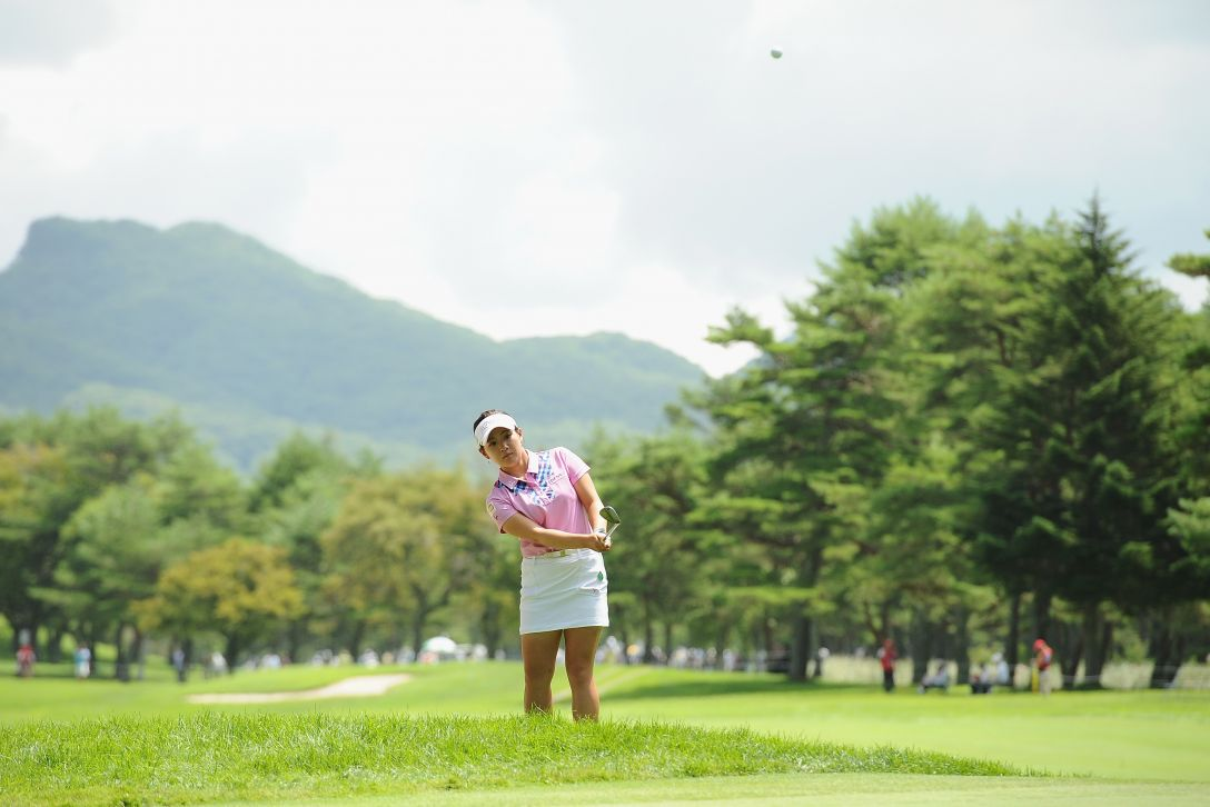軽井沢72ゴルフトーナメント 最終日 永井花奈 <Photo:Matt Roberts/Getty Images>
